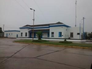 Estación de trenes de Chacabuco.