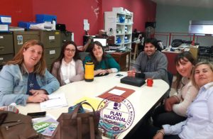 Monitoreo  y articulación con el Área Mujer de Chacabuco