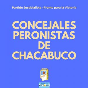 Bloque concejales PJ-FPV