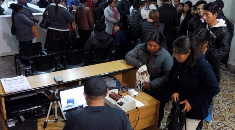 Consulado Móvil boliviano en Chacabuco
