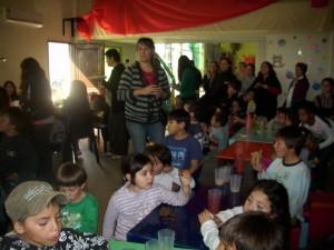 Festejo Día del Niño en el Hogar del Niño de Chacabuco.