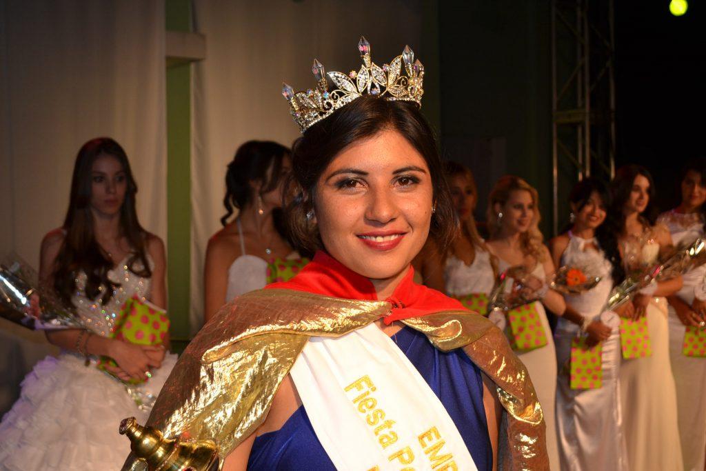Aldana Pérez, fue elegida por la Comisión de la Fiesta como Embajadora de la Fiesta, dónde dejó su lugar, Analía Bromo.