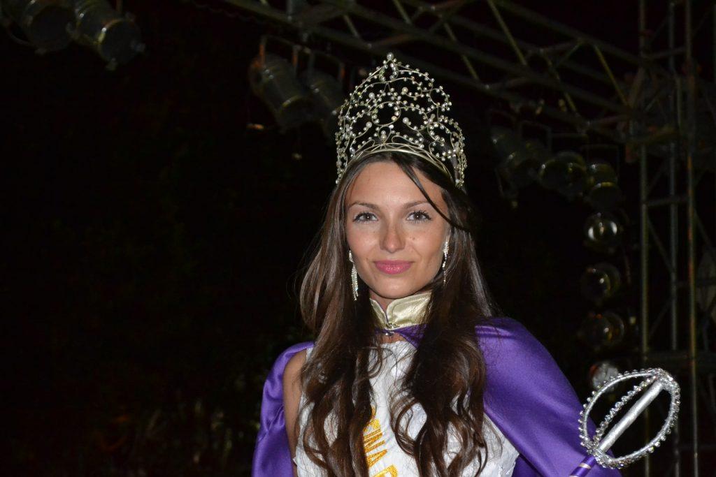 Aldana Grammático, flamante Reina de la de la XXXIII Fiesta Provincial de la Primavera en Rawson.
