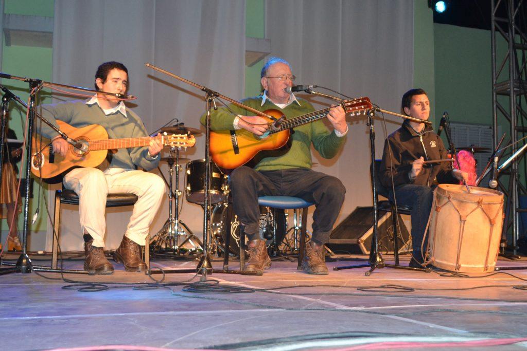 Félix y Rodolfo Robiola junto a Martín Ojeda