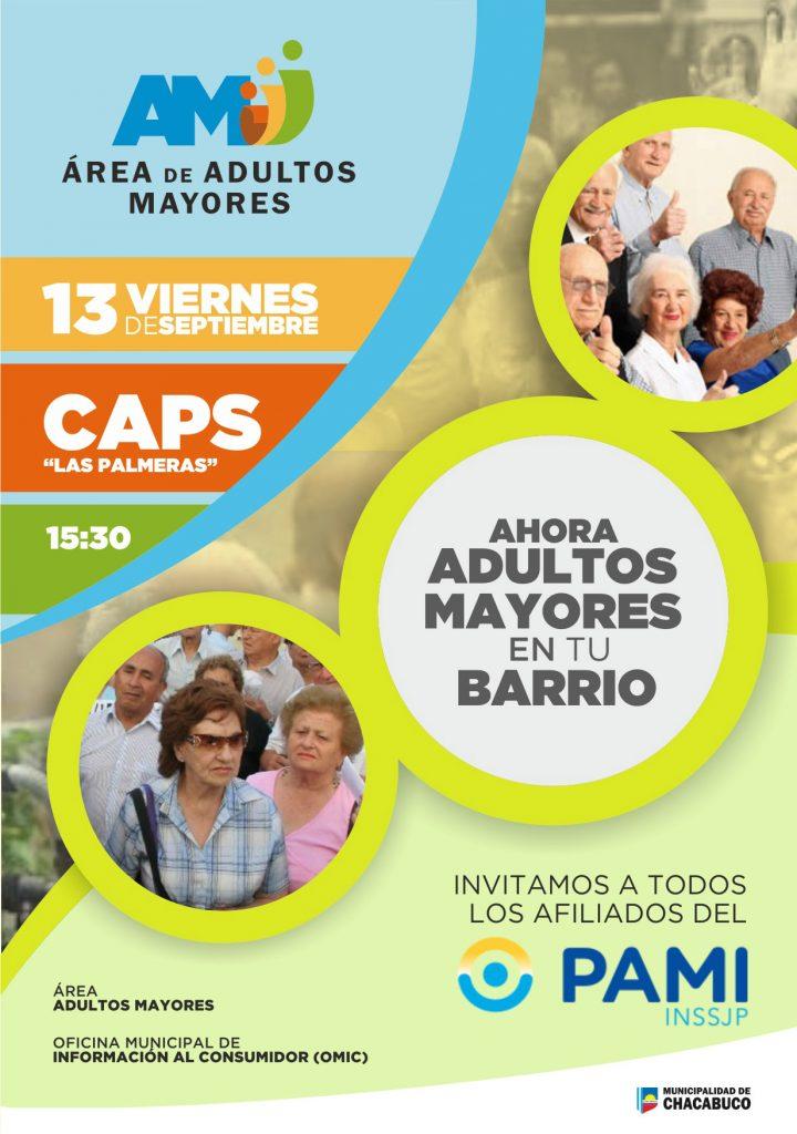 """Vuelve el programa """"Ahora Adultos Mayores en tu Barrio"""""""