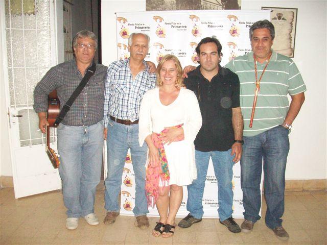 Sandra Alegre y sus músicos.