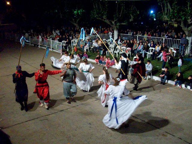 Ballet Folklórico de la ciudad bonaerense de General Alvear.