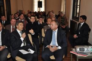Franetovich encabezó encuentro para la modificación del decreto de agroquímicos.