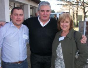 Felice, Linares y Panunzio.