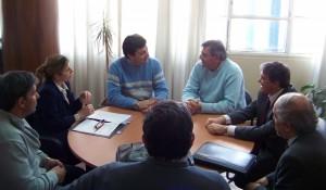 Reunión en Infraestructura.