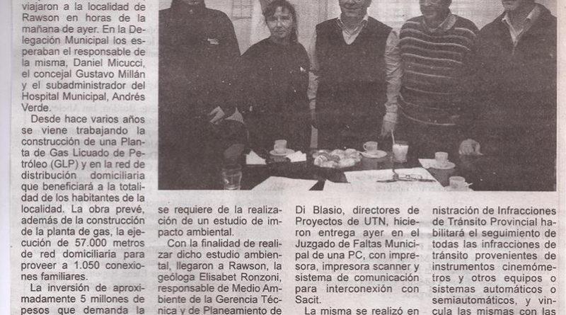 """Informe publicado por el diario •De Hoy"""", con fecha 31 de julio de 2014."""