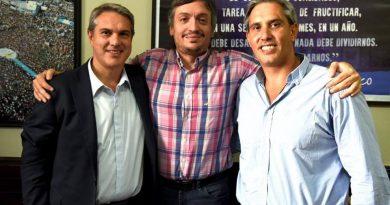 Golía junto a Máximo Kirchner.