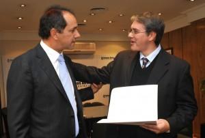 El Gobernador Daniel Scioli visitara Chacabuco el jueves 29 de septiembre.