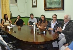 Golía visitó la localidad de San Miguel del Monte.