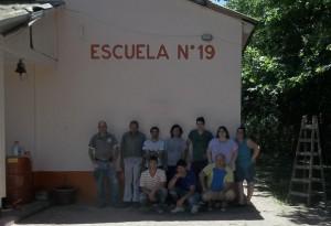 El Grupo 32 en Coliqueo.
