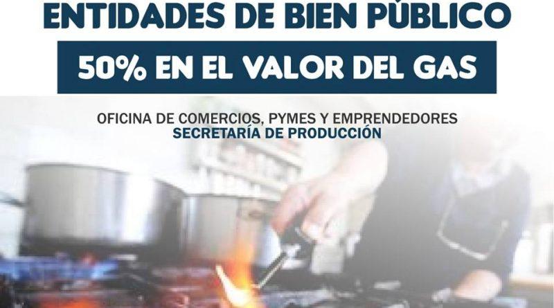 50 por ciento en el valor del gas