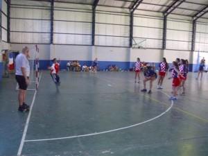 Finales de handball  en Chacabuco.