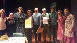 Decreto de Interés Legislativo y Cultural al grupo Teatro Callejero