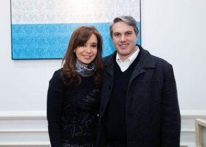 Golía con Cristina Kirchner,