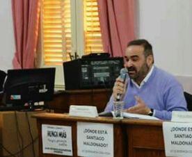 Javier Estévez - Presidente Bloque PJ-FpV