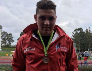 Nicolás del Campo, Medalla de Plata.