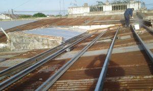 Arreglo de techos en el Hogar.