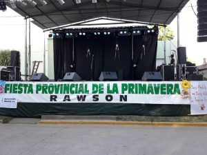 La Radio de Rawson, transmitirá ésta noche y mañana, la XXXIV Fiesta Provincial de la Primavera.