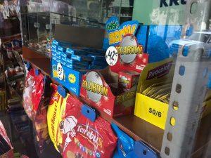 Control de comercialización de pirotecnia