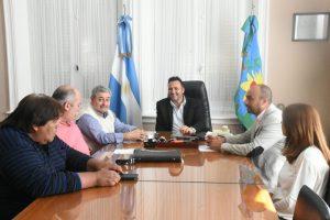 Imagen de la pasada reunión de la Comisión de Relaciones Laborales.