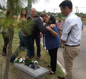 """Los presente en el sector """"Memoria, Dignidad, Justicia"""""""