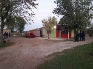 Allanamiento en Chacabuco.