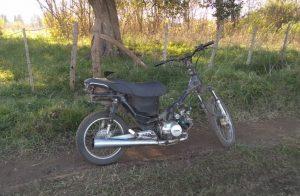 Una de las motos recuperadas