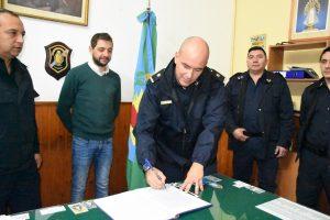 Almeida se suma a la fuerza policial
