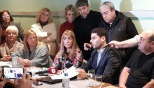 Imagen de la conferencia de prensa