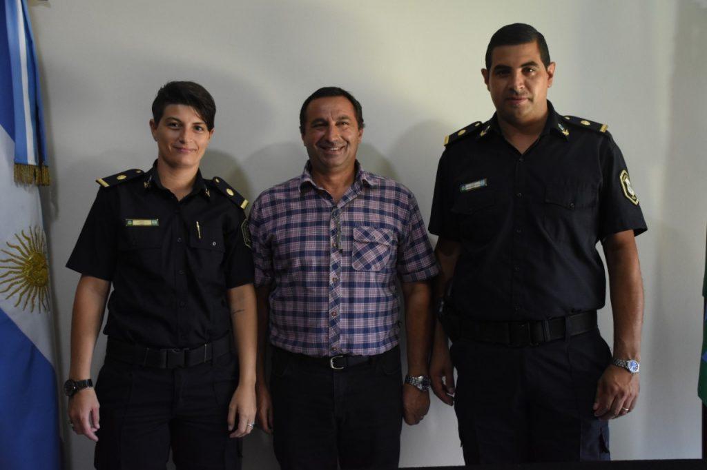 De izq. a derecha: Martino, Lucci y Cabella.