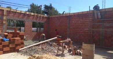 Obras de infraestructura en escuela