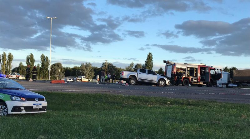 Imagen del accidente dónde hubo varios muertos
