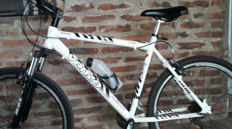 Ésta es la imagen de la bicicleta que robaron