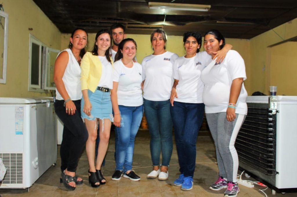 Miembros de Cooperadora de la Escuela Primaria Nº 13 de Castilla