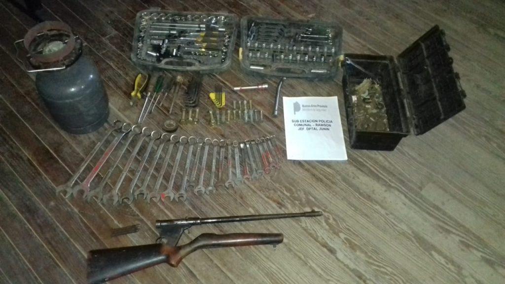 Los elementos secuestrados en los allanamientos y que pertenecen a Sívori