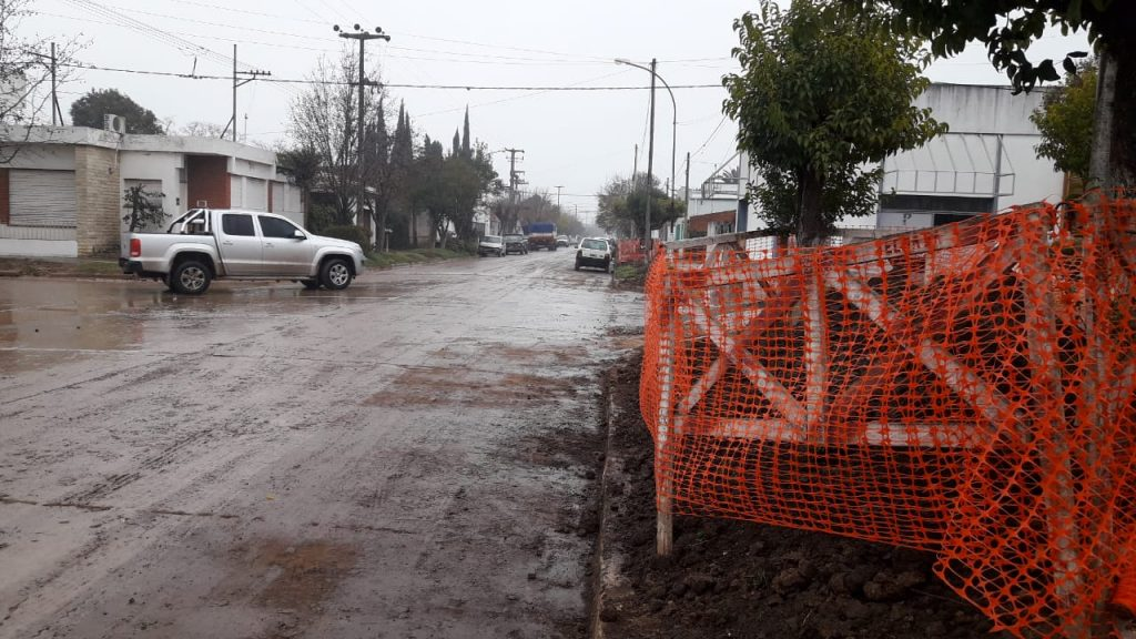 Limpiarán avenida Chacabuco