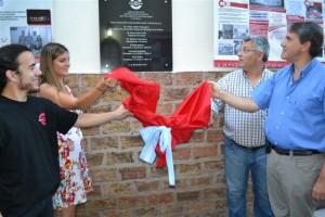 Se inauguró la Casa de Estudiantes de Chacabuco en Buenos Aires.