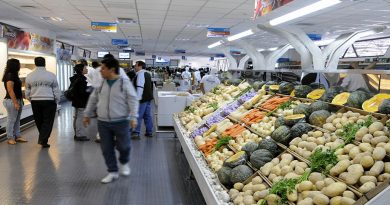 La inflación fue de 3,8% en febrero y acumuló 6,8% en dos meses