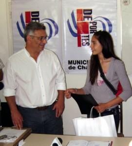 Irina Rodríguez Oro en 2010 y 2011.