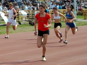 Irina Rodríguez, plata en los Juegos Evita 2012.