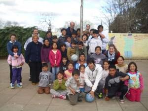 """Proyecto"""" Jugando en mi barrio""""."""