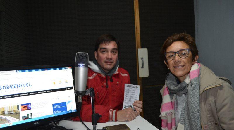 Agazzani y Quiróz en la Radio de Rawson