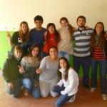 Integrantes de la juventud Peronista.