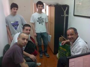 Jóvenes Estudiantes visitaron el HCD.