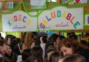 """""""Kioscos Saludables"""" en escuelas de Chacabuco."""